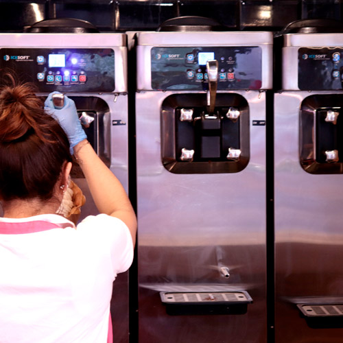 maquinas helado cremoso yogurt americano
