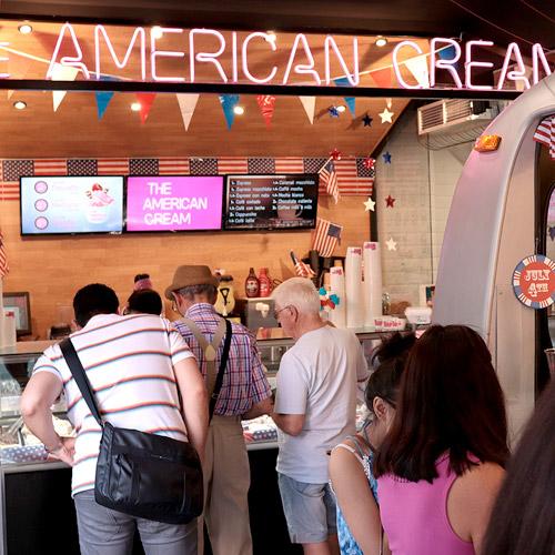 zona helado casero heladeria americana