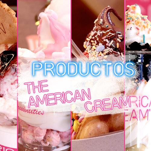 productos americanos helados unicos