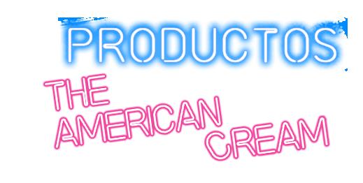 Productos heladerias americanas